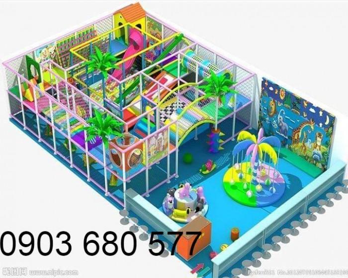 Chuyên nhận thi công khu vui chơi trẻ em trong nhà và ngoài trời10