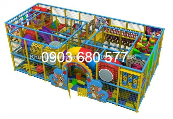 Chuyên nhận thi công khu vui chơi trẻ em trong nhà và ngoài trời16