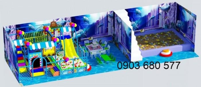Chuyên nhận thi công khu vui chơi trẻ em trong nhà và ngoài trời11