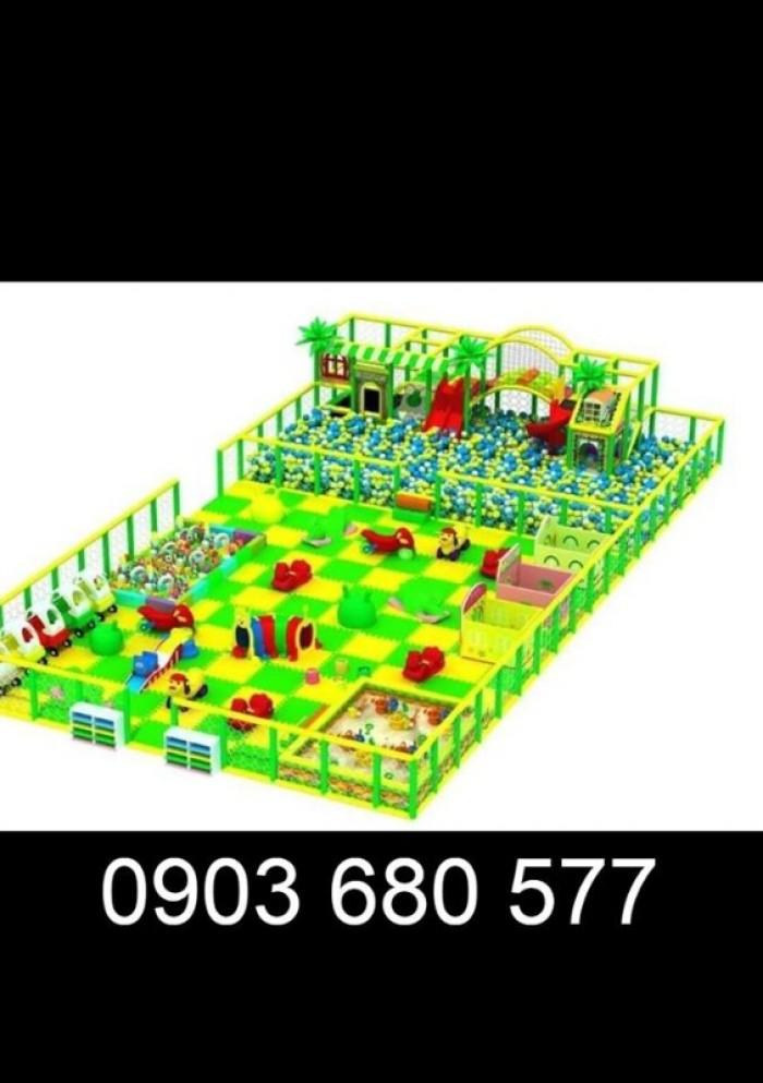 Chuyên nhận thi công khu vui chơi trẻ em trong nhà và ngoài trời34
