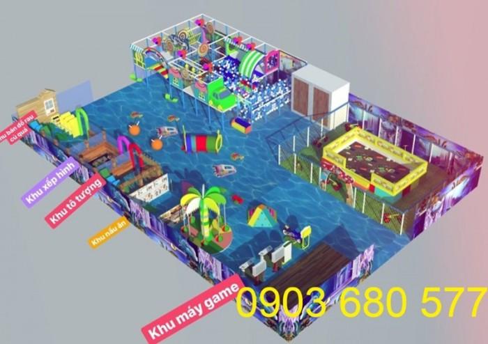 Chuyên nhận thi công khu vui chơi trẻ em trong nhà và ngoài trời22