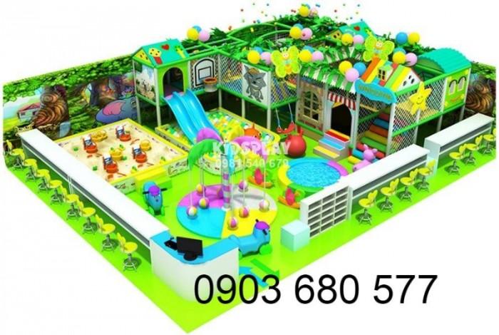 Chuyên nhận thi công khu vui chơi trẻ em trong nhà và ngoài trời27