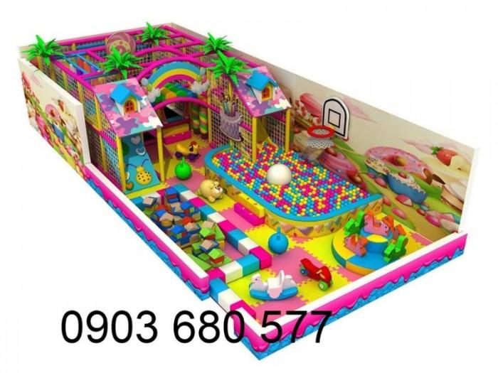 Chuyên nhận thi công khu vui chơi trẻ em trong nhà và ngoài trời25