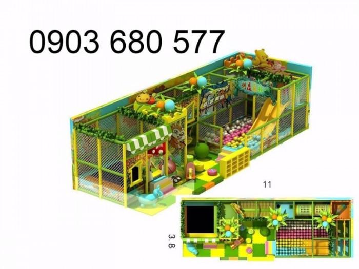 Chuyên nhận thi công khu vui chơi trẻ em trong nhà và ngoài trời35