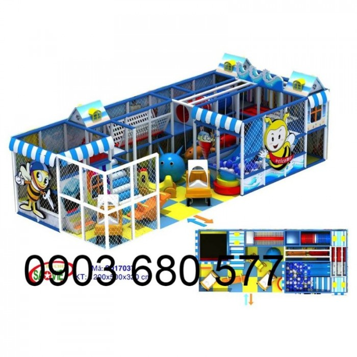 Chuyên nhận thi công khu vui chơi trẻ em trong nhà và ngoài trời32