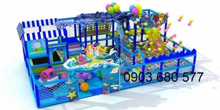 Chuyên nhận thi công khu vui chơi trẻ em trong nhà và ngoài trời19