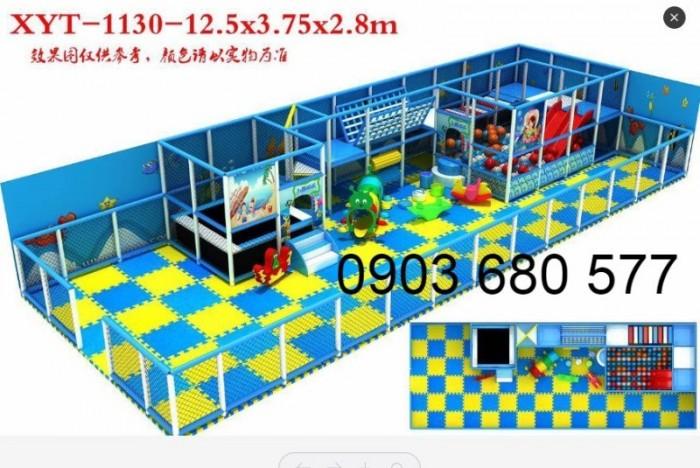 Chuyên nhận thi công khu vui chơi trẻ em trong nhà và ngoài trời33