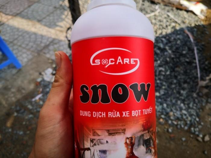 :point_right:HƯỚNG DẪN SỬ DỤNG: Pha 01 lít nước Rửa Xe Bọt Tuyết Snow tối đa 80 lít nước sạch. .