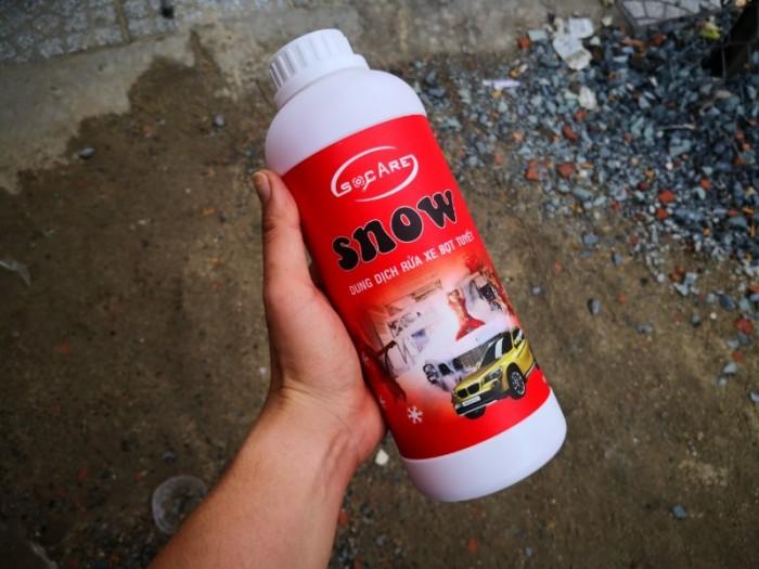 - Sử dụng khăn lau chuyên dùng hay khăn mềm để rửa toàn bộ thân xe. - Rửa toàn bộ thân xe với nước sạch - Làm tăng độ bóng với Socare Snow.