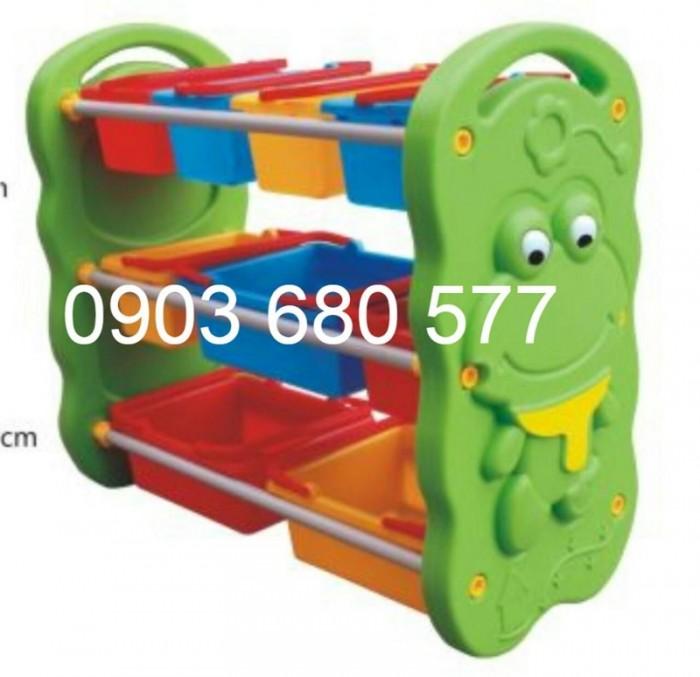 Chuyên bán kệ nhựa để đồ chơi trẻ em cho trường mầm non, lớp mẫu giáo10