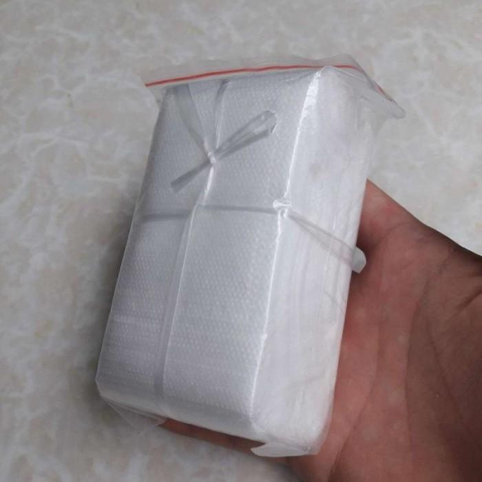 túi lọc trà bằng vải không dệt kích thước 5.5x7 cm có dây rút1