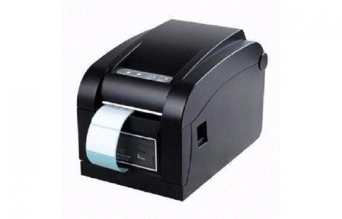 Máy in mã vạch APOS-350BN, tốc độ in cực nhanh : 4 Inch hoặc 127mm/s tương đương 400-620 tem/1 phút, tương thích với tất cả phần mềm in mã vạch hiện có độ bền đầu in cao dễ sử dụng0