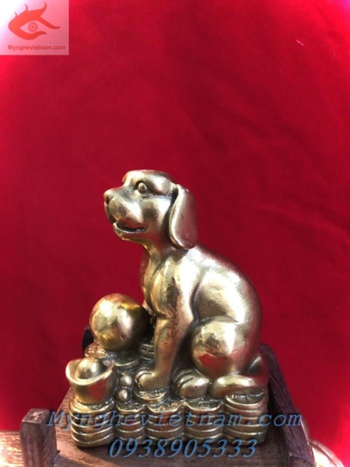 Tượng chó bằng đồng phong thủy1