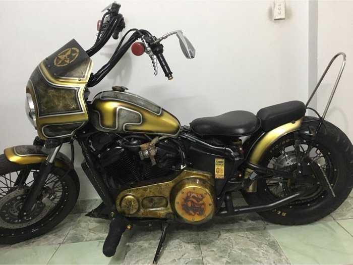 Honda motor Shadow phong cách Harley Davison