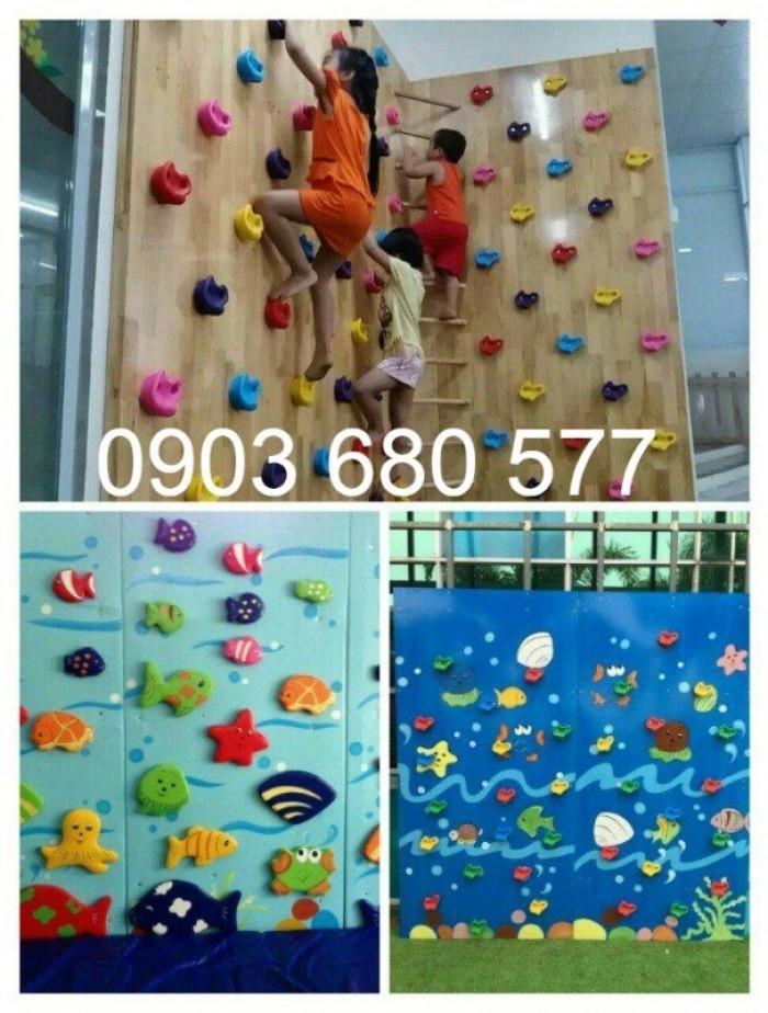 Mua tường leo núi vận động, vui chơi cho trẻ nhỏ6
