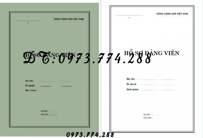 Bán buôn, sỉ, lẻ hồ sơ cán bộ công chức21