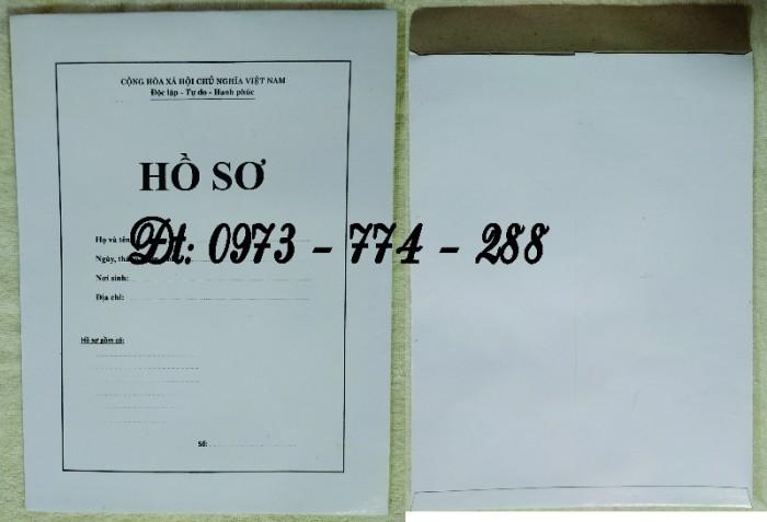 Bộ hồ sơ cán bộ công chức có mẫu b01, b02, b03, b04, b05, b06, hs09-VC/BNV giá rẻ, mẫu chuẩn mới nhất14