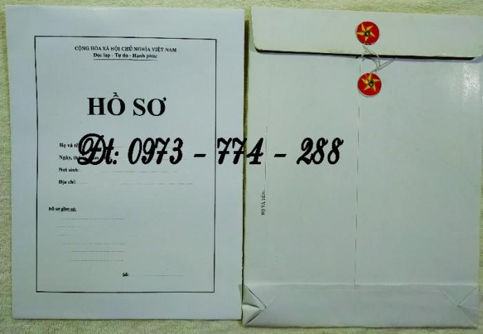 Bộ hồ sơ cán bộ công chức có mẫu b01, b02, b03, b04, b05, b06, hs09-VC/BNV giá rẻ, mẫu chuẩn mới nhất15