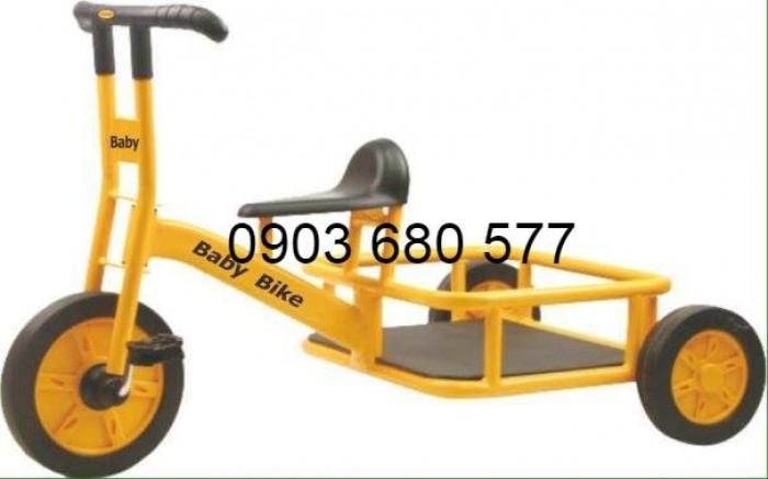 Cần bánh xe đạp 3 bánh cho trẻ em mầm non1
