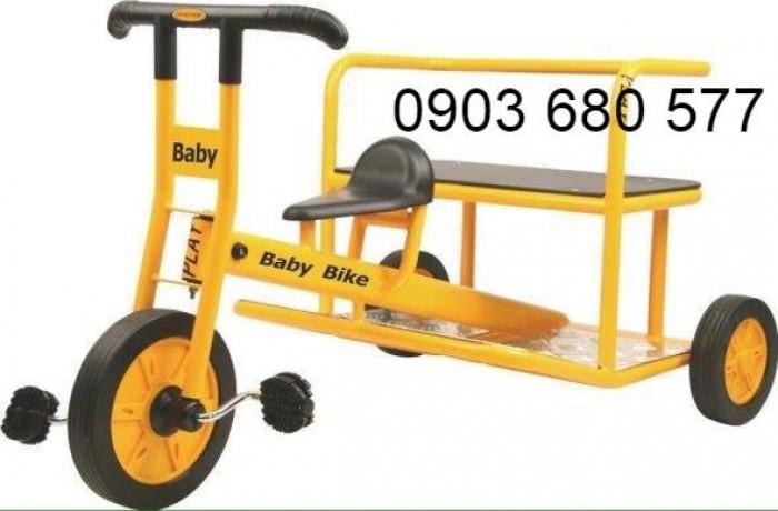 Cần bánh xe đạp 3 bánh cho trẻ em mầm non0