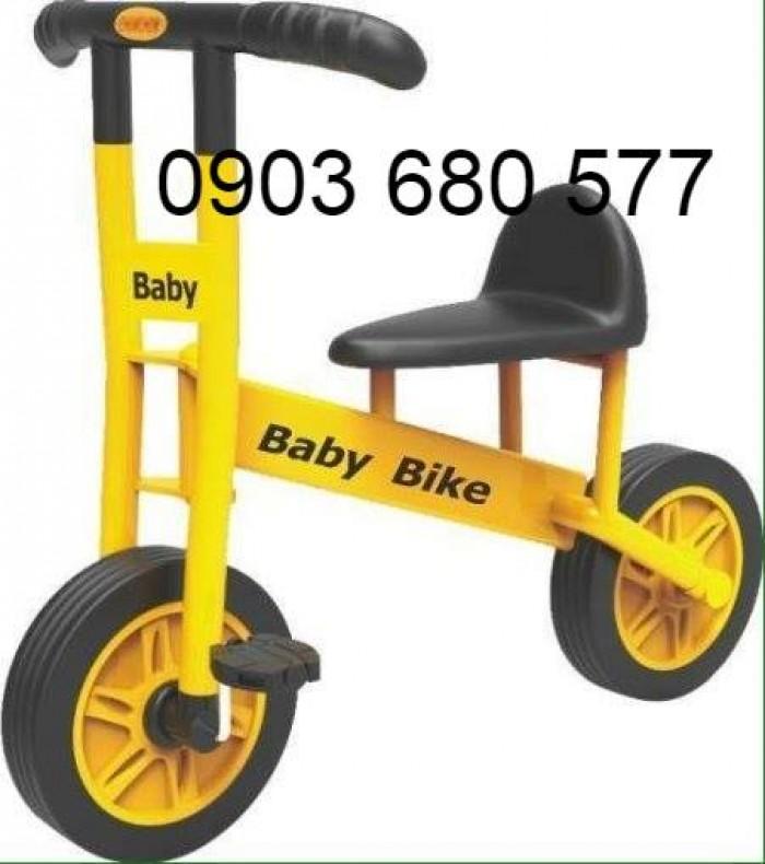 Cần bánh xe đạp 3 bánh cho trẻ em mầm non17