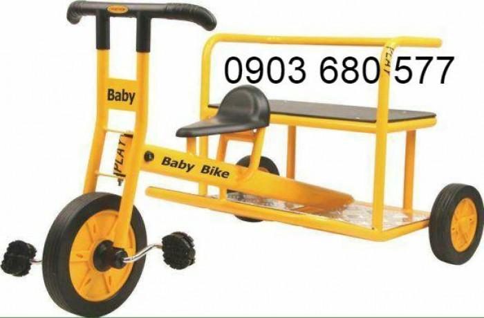 Cần bánh xe đạp 3 bánh cho trẻ em mầm non4