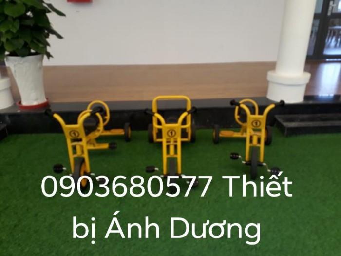 Cần bánh xe đạp 3 bánh cho trẻ em mầm non12