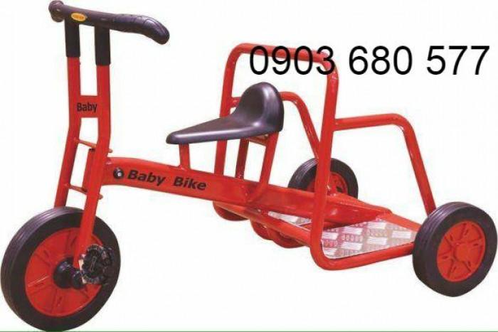 Cần bánh xe đạp 3 bánh cho trẻ em mầm non6