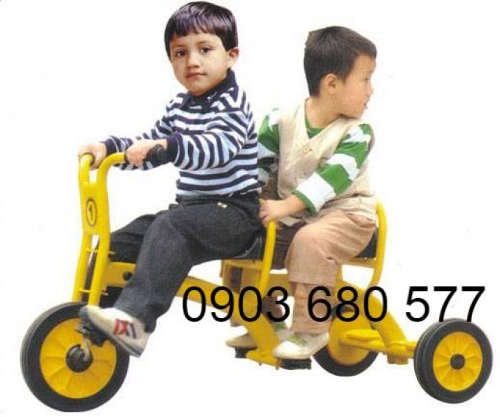Cần bánh xe đạp 3 bánh cho trẻ em mầm non11