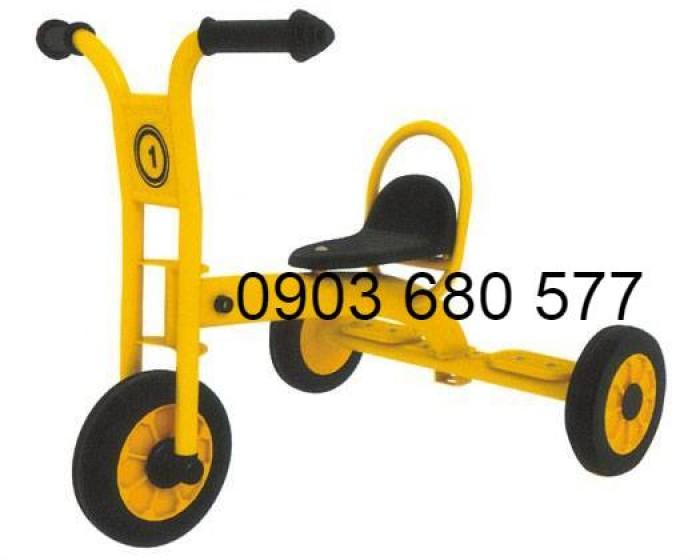 Cần bánh xe đạp 3 bánh cho trẻ em mầm non9