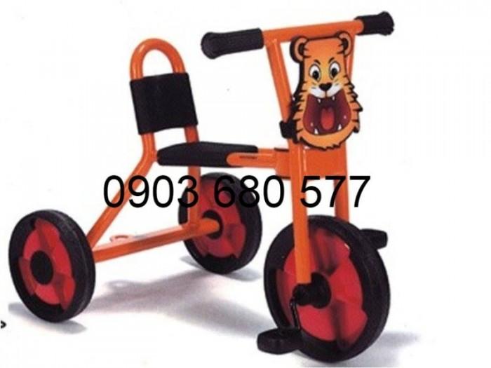 Cần bánh xe đạp 3 bánh cho trẻ em mầm non10