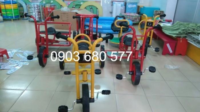 Cần bánh xe đạp 3 bánh cho trẻ em mầm non7