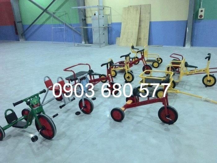 Cần bánh xe đạp 3 bánh cho trẻ em mầm non13
