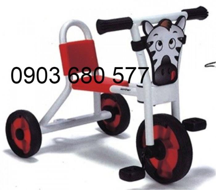 Cần bánh xe đạp 3 bánh cho trẻ em mầm non15