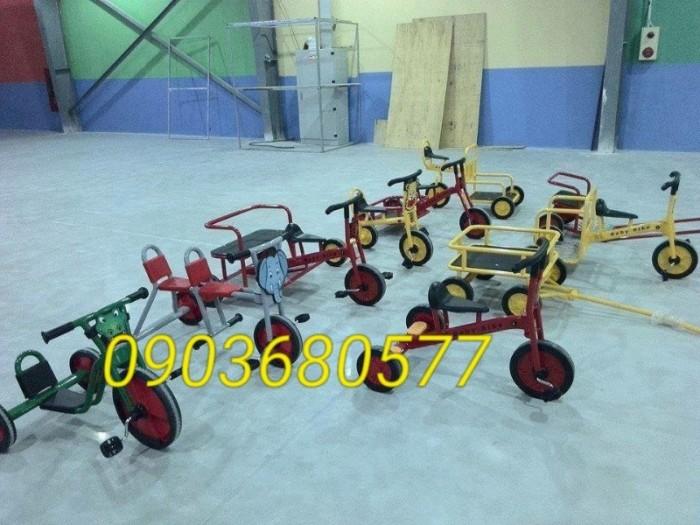 Cần bánh xe đạp 3 bánh cho trẻ em mầm non8