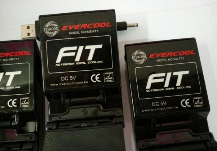 Lô 4 Quạt EverCool NB-FT1 Fit được tặng không dùng đến1