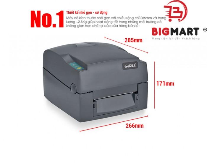 Công nghệ in nhiệt là một kỹ thuật được ưa chuộng và sử dụng rất rộng rãi gần đây. Theo kịp xu hướng chung của thị trường, máy in tem nhãn Godex G500 được tích hợp cả phương thức in nhiệt kiểu trực tiếp và gián tiếp giúp cho chất lượng in ấn được nâng cao hơn và phục vụ nhiều nhu cầu đa dạng hơn.0