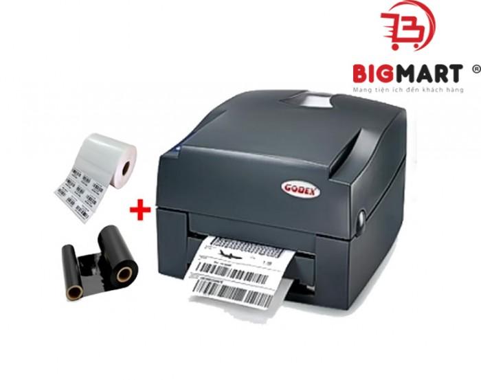 Chiều rộng khổ in của mấy phù hợp với hầu hết các loại giấy thịnh hành hiện nay, chiều cao nhãn in cũng được điều chỉnh với việc tùy chỉnh khổ giấy từ 4mm – 1727mm. Bạn sẽ không gặp quá nhiều khó khăn khi thực hiện in ấn tem nhãn với chiếc máy này.3