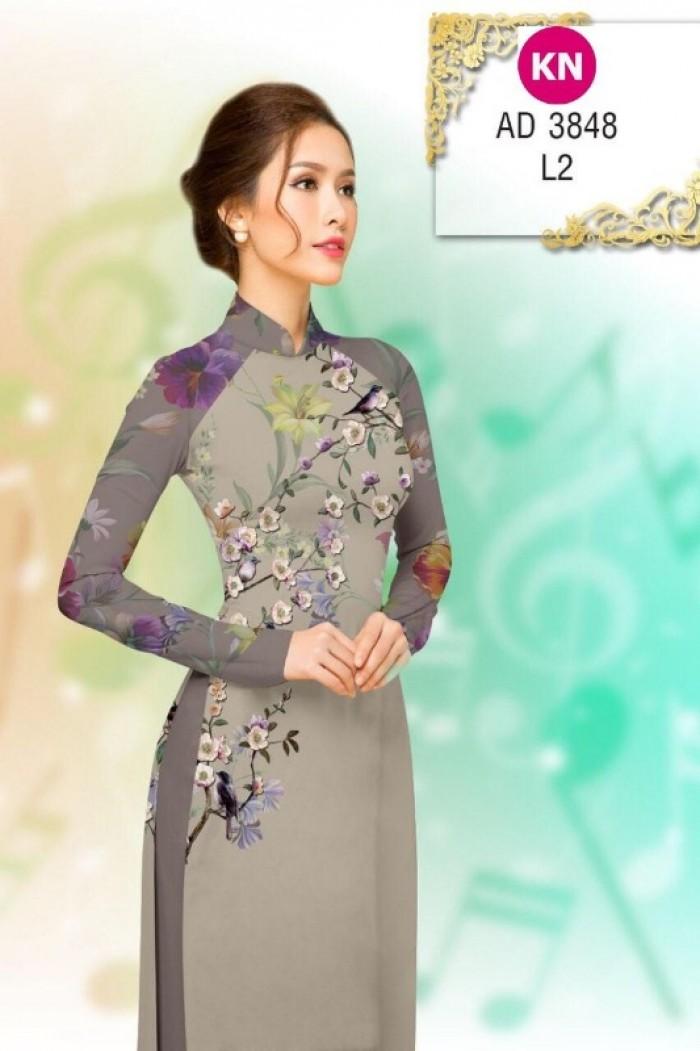 Vải áo dài trơn, vải áo dài hoa nhí, vải áo dài Cô ba Sài Gòn21