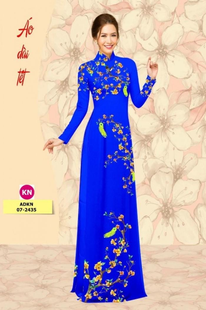 Vải áo dài trơn, vải áo dài hoa nhí, vải áo dài Cô ba Sài Gòn13
