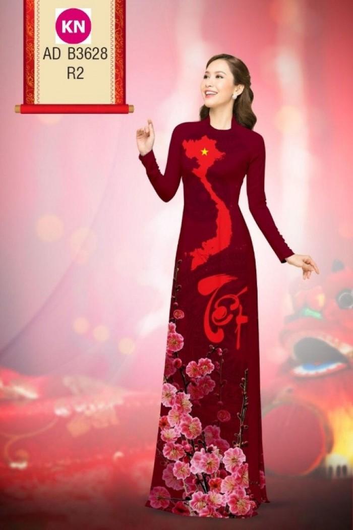 Vải áo dài trơn, vải áo dài hoa nhí, vải áo dài Cô ba Sài Gòn17