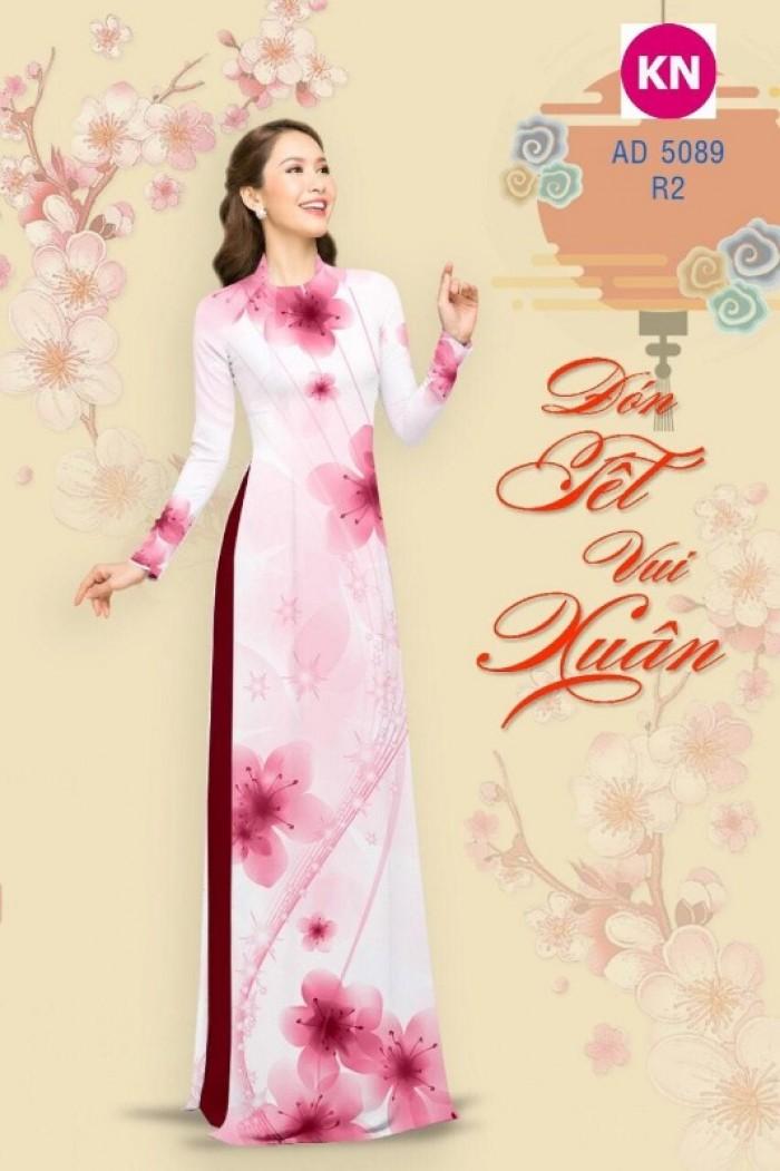 Vải áo dài trơn, vải áo dài hoa nhí, vải áo dài Cô ba Sài Gòn8