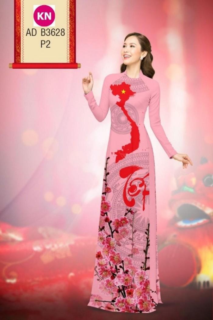 Vải áo dài trơn, vải áo dài hoa nhí, vải áo dài Cô ba Sài Gòn18