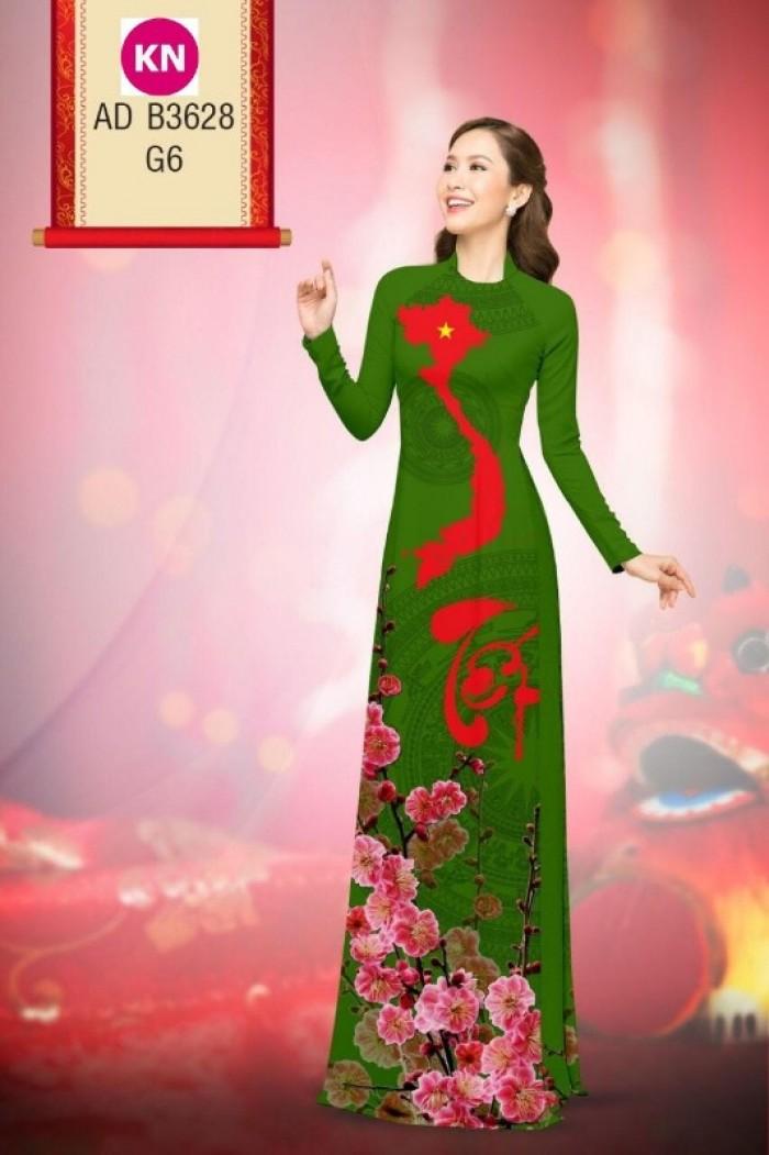 Vải áo dài trơn, vải áo dài hoa nhí, vải áo dài Cô ba Sài Gòn20