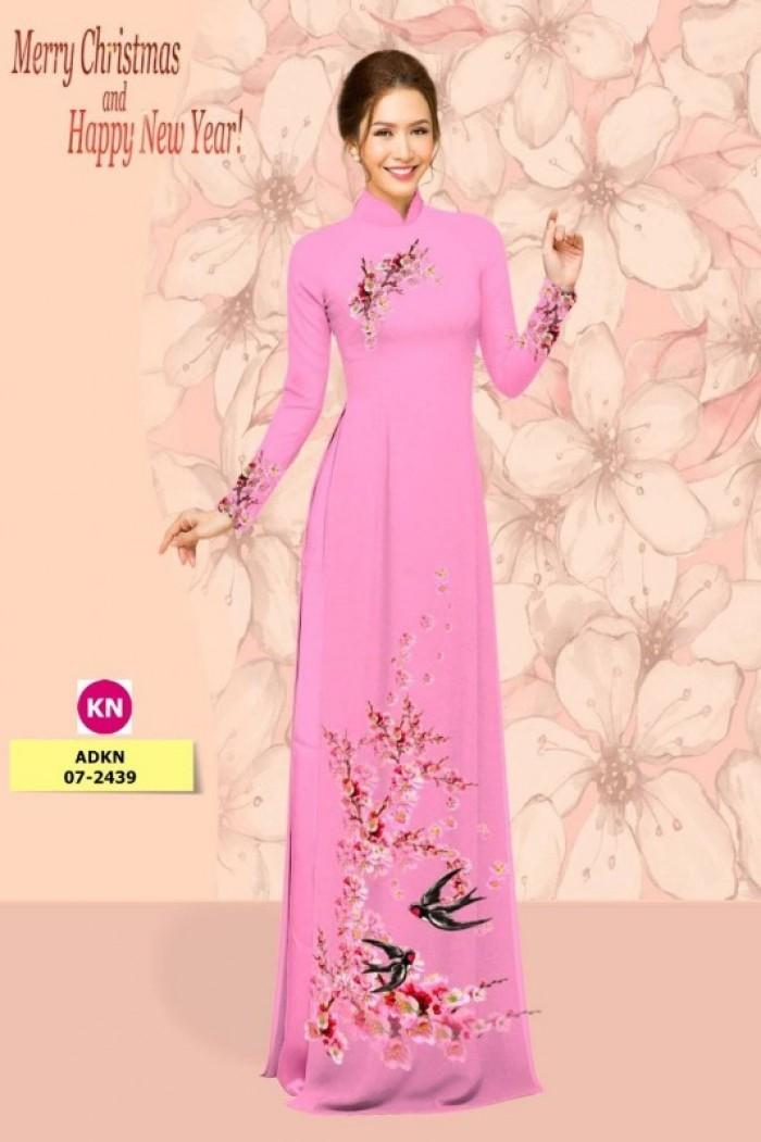 Vải áo dài trơn, vải áo dài hoa nhí, vải áo dài Cô ba Sài Gòn22