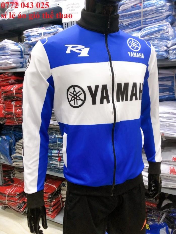 áo gió yamaha mới nhất - xưởng chuyên áo gió