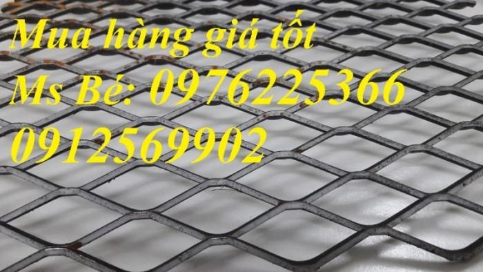 Lưới thép kéo giãn, lưới mắt cáo hình thoi chuyên phân phối