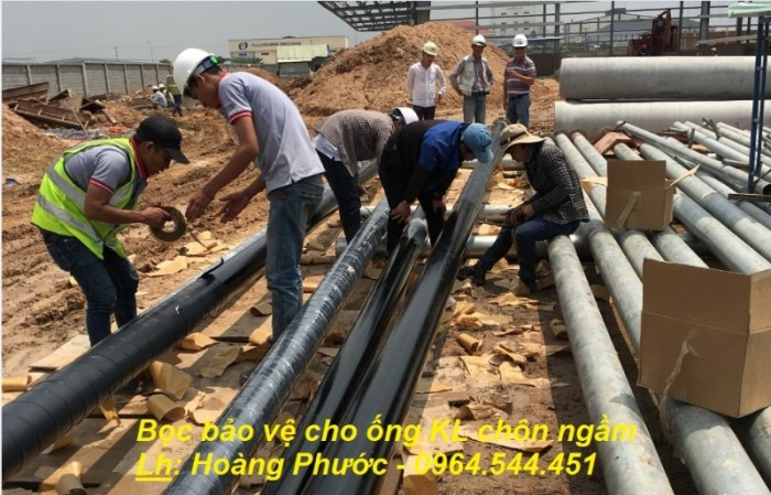 Băng quấn PREMCOTE101 - UK - bọc bảo vệ chống ăn mòn cho ống3