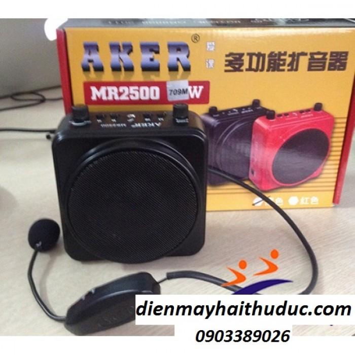 Máy trợ giảng AKER MR-2500W Với công nghệ xử lý âm thanh lọc tiếng ồn, giảm hú rè3
