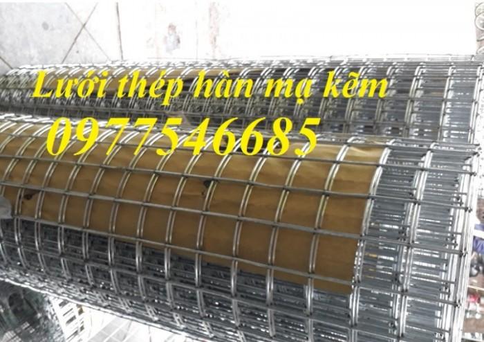 Lưới thép hàn mạ kẽm D3 mắt lưới 50x50 hàng  luôn có sẵn kho